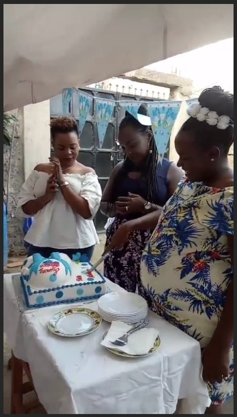 Njugush's wife baby shower