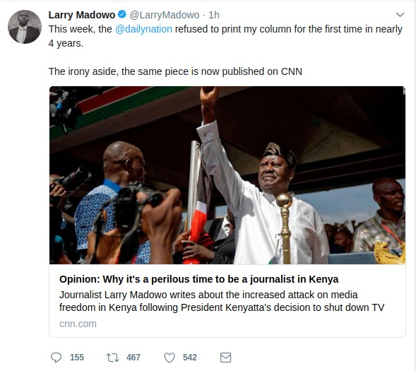 Larry Madowo screenshot