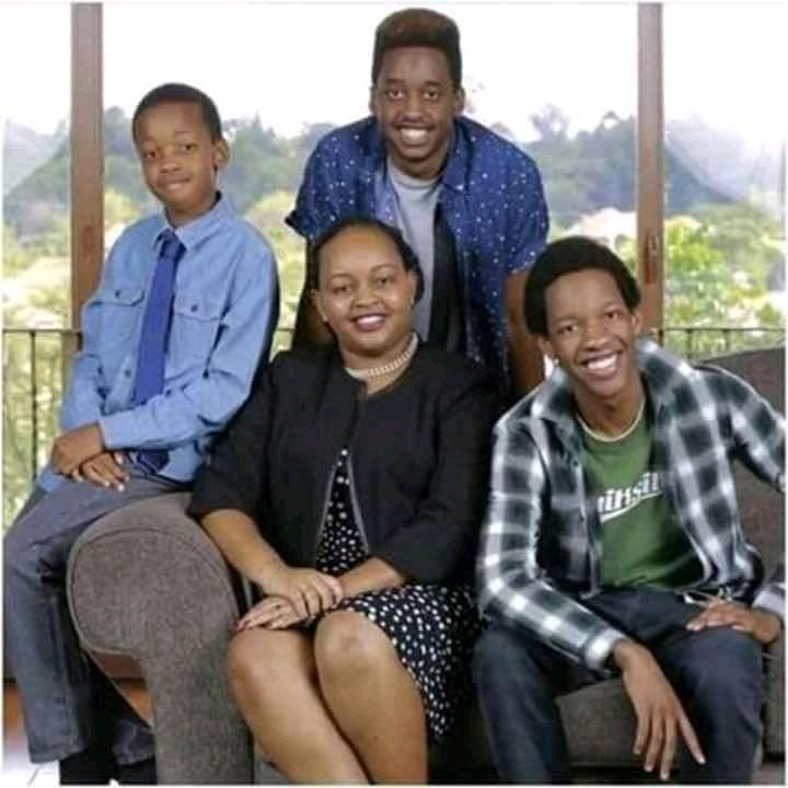 Anne Waiguru's family