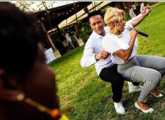 DJ Mo and Size 8 dancing