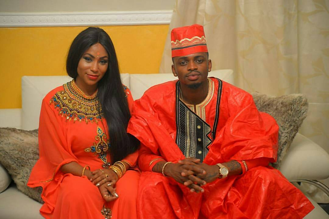 Esma and brother Diamond Platnumz
