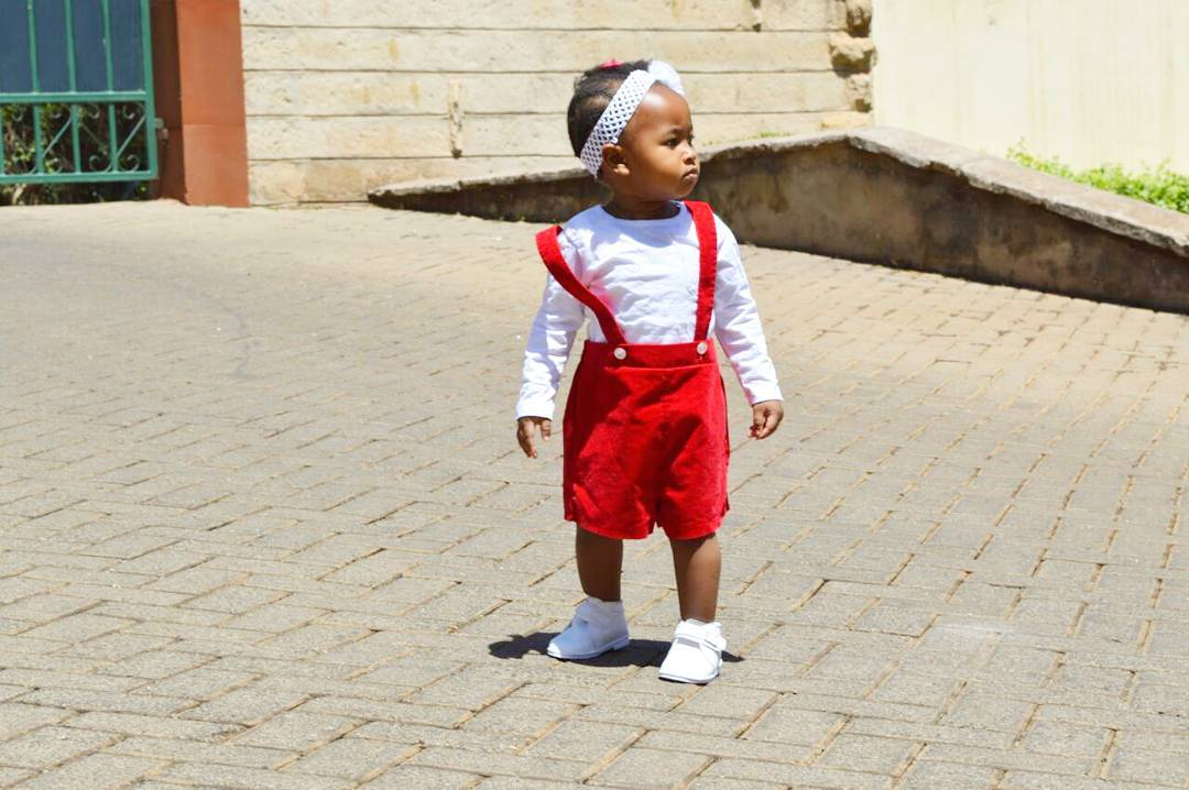 ladasha 10 - Photos of DJ Mo and Size 8's daughter with her game face on