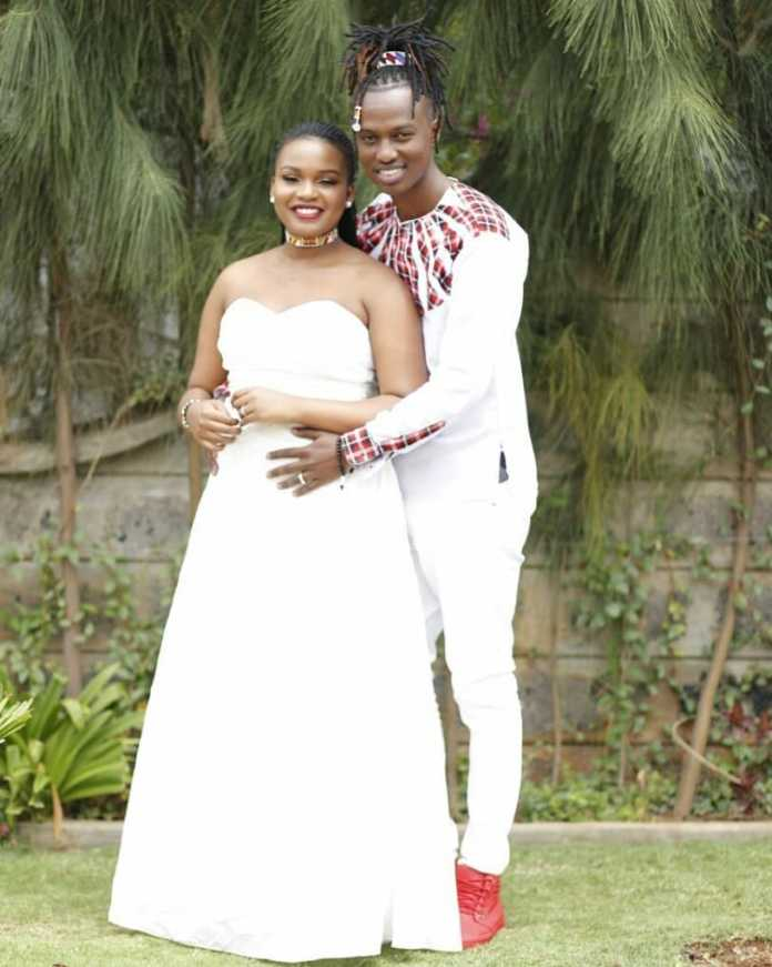 L Jay Maasai and Ashley Mutahi's wedding