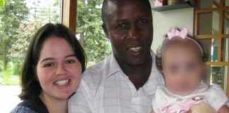 Joshua Werunga and Narooma McDiarmid with their daughter