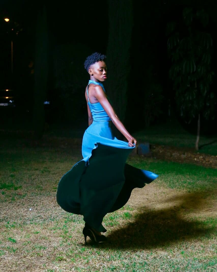 Akothee's daughter Rue Baby