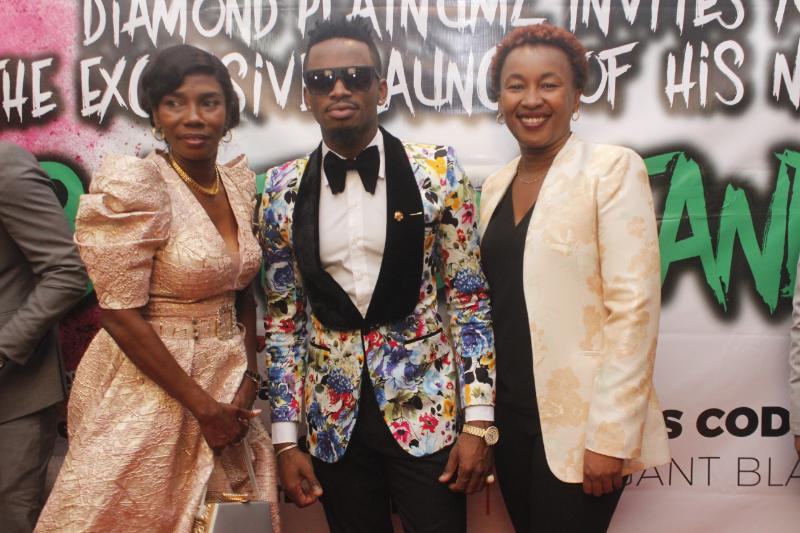 Diamond Platnumz' album launch