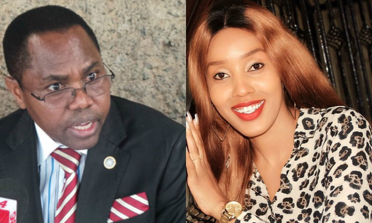 Doreen Gatwiri and Gideon Mulyungi