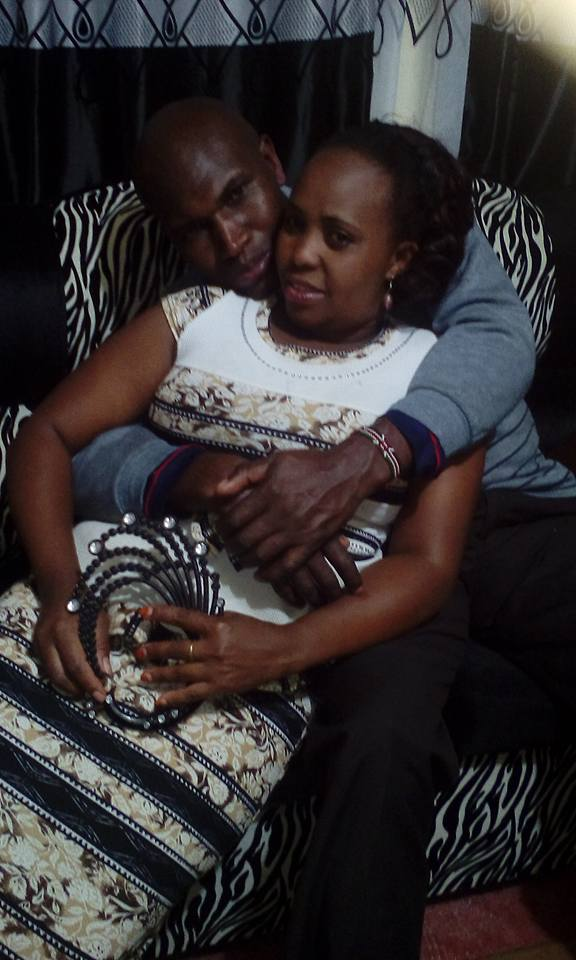 Gitau and wife