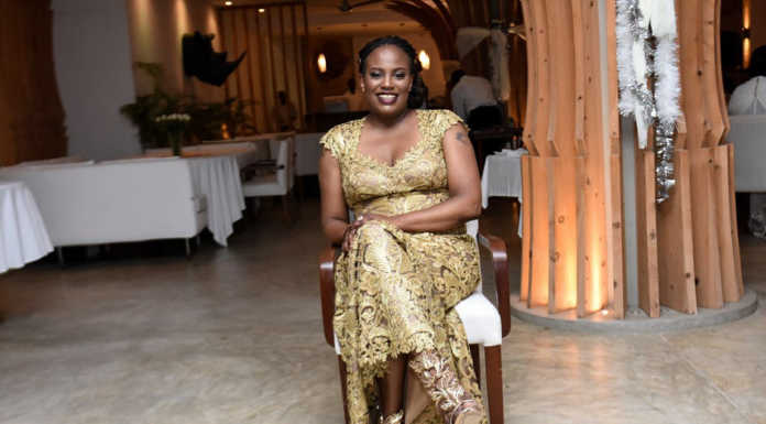 Nana Gecaga40 696x385 - Pesa si shida! Uhuru Kenyatta's niece steps out with an expensive Louis Vuitton belt, worth your rent