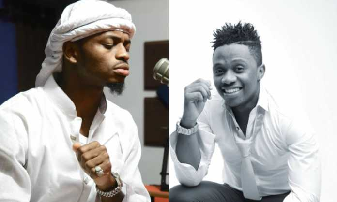 Diamond Platnumz with Rayvanny