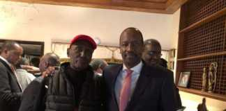 Chris Kirubi and Kiprono