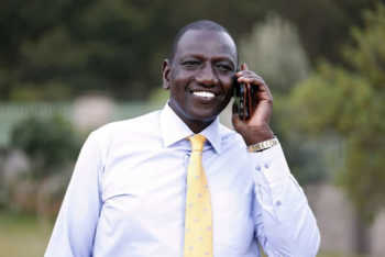 William Ruto DAILYPOST 350x234 - From a hustler to a jetsetter! This photo of DP Ruto will make you count your blessings