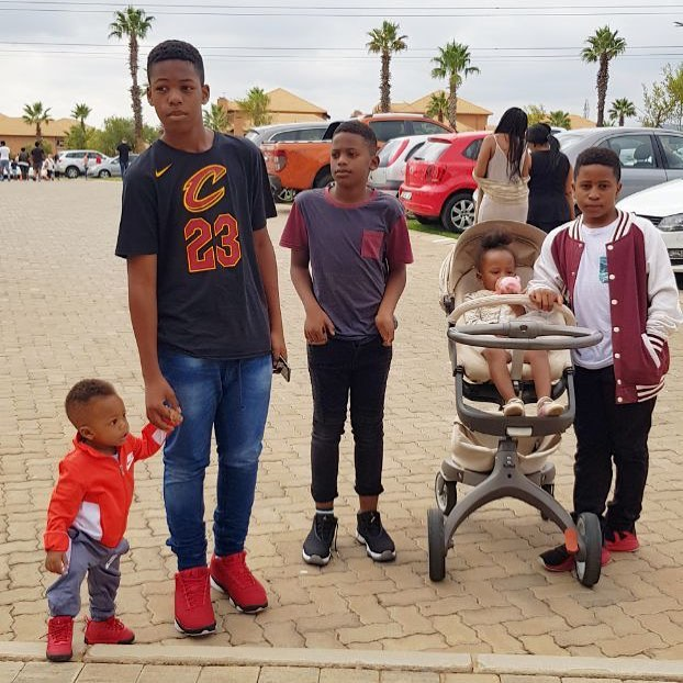 Zari Hassan's children
