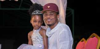 Ali Kiba and Daughter Amiya