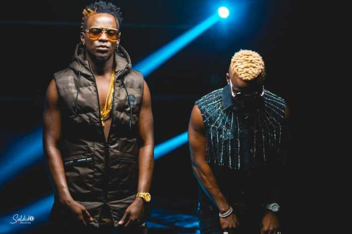 Willy Paul and Harmonize