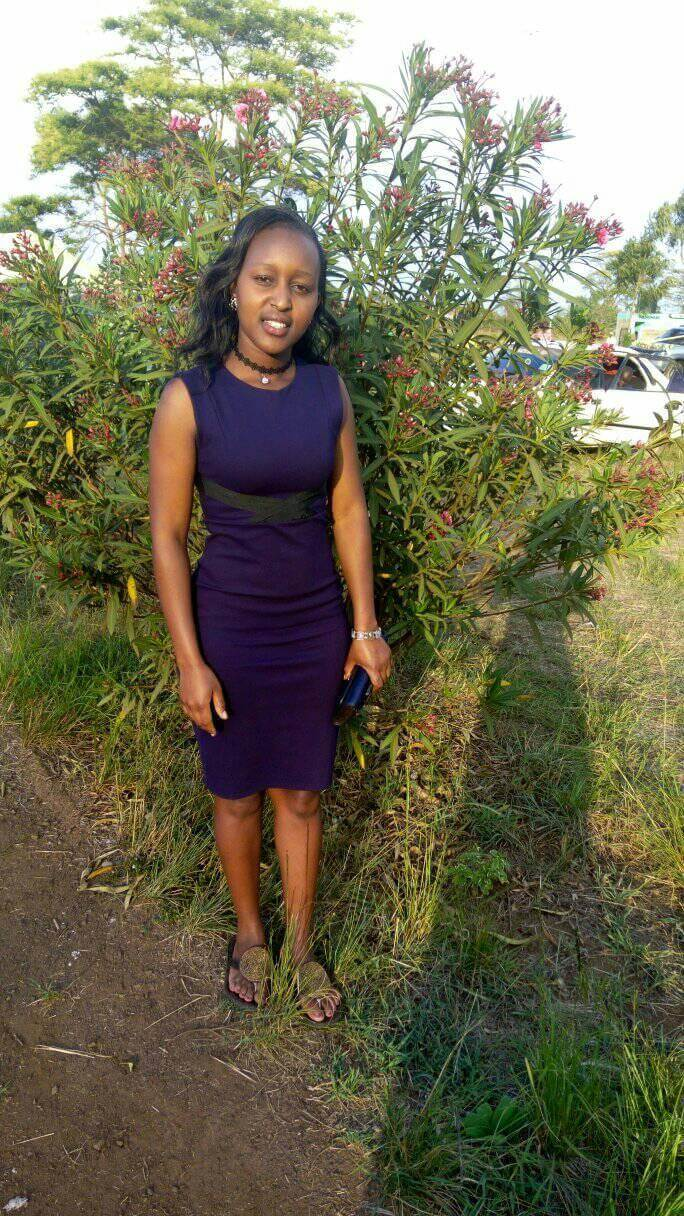 Pictures of the late Susan Njeri