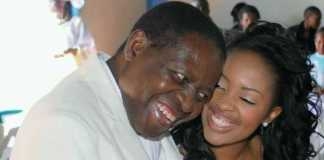 Kambua and late dad