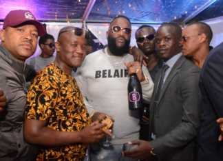 Jared Otieno with Rick Ross