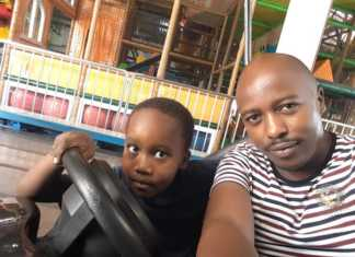 DNA with son Jamaal