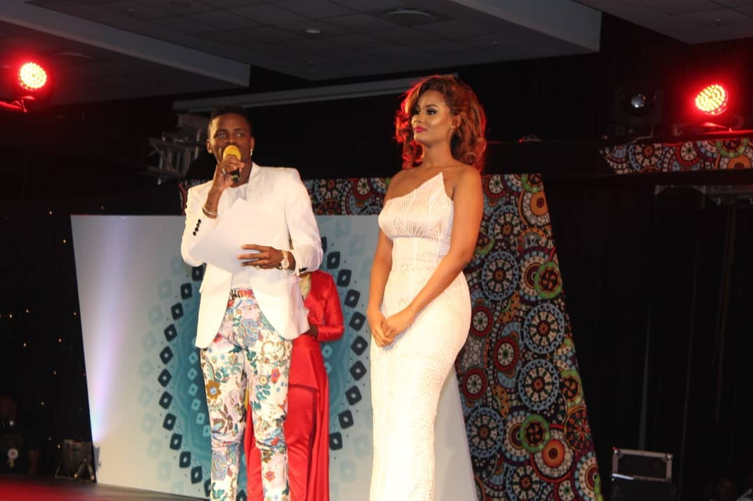 Hamisa Mobetto with Diamond Platnumz