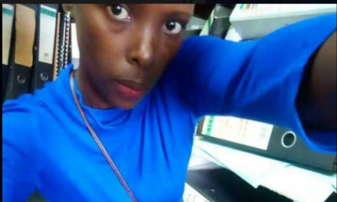 Kenyan lady who exposed her lecturer