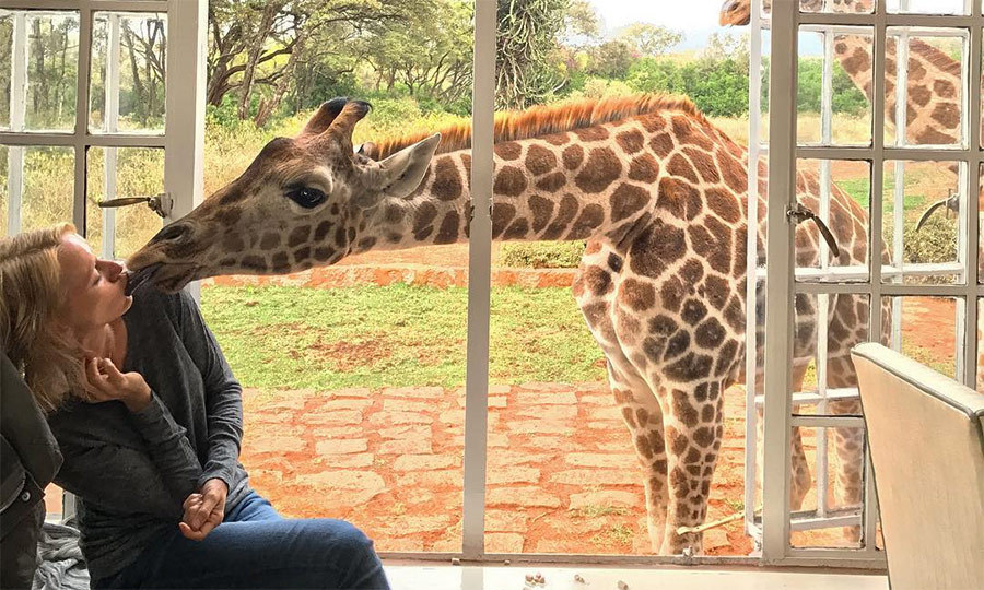 Naomi-Watts-gets-a-sweet-welcome-at-the-Giraffe-Manor-in-Kenya