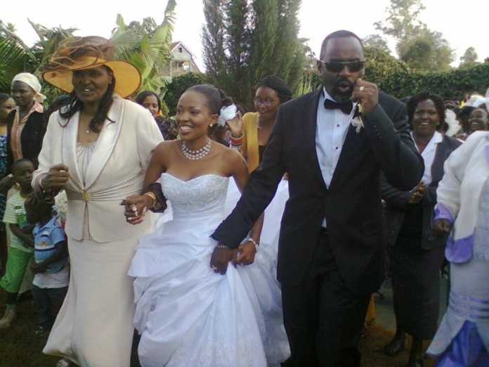 Kambua wedding