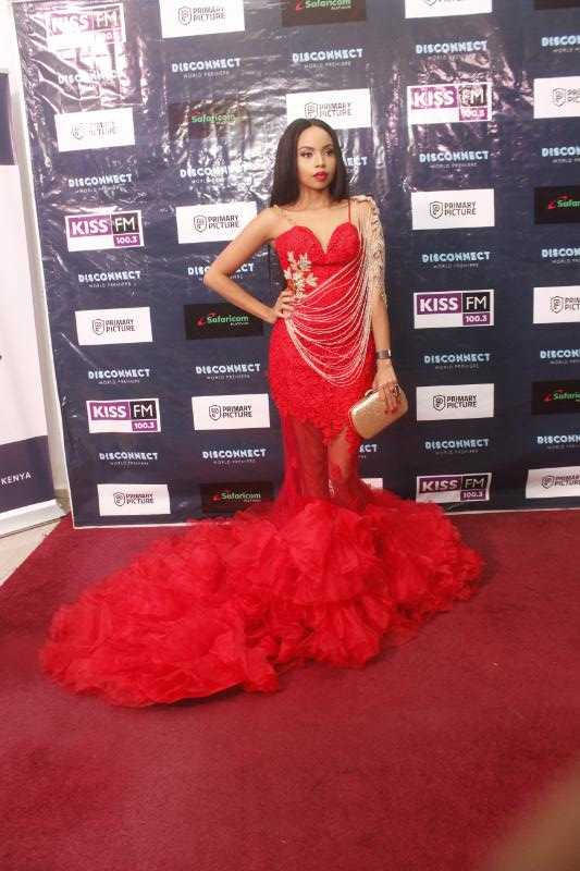 brenda e1524478292425 - Top 8 Kenyan celebrities that pull that perfect Red Carpet gown look