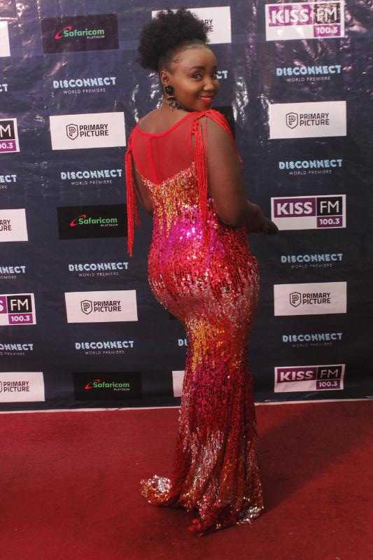 catherine kamau e1524478465394 - Top 8 Kenyan celebrities that pull that perfect Red Carpet gown look