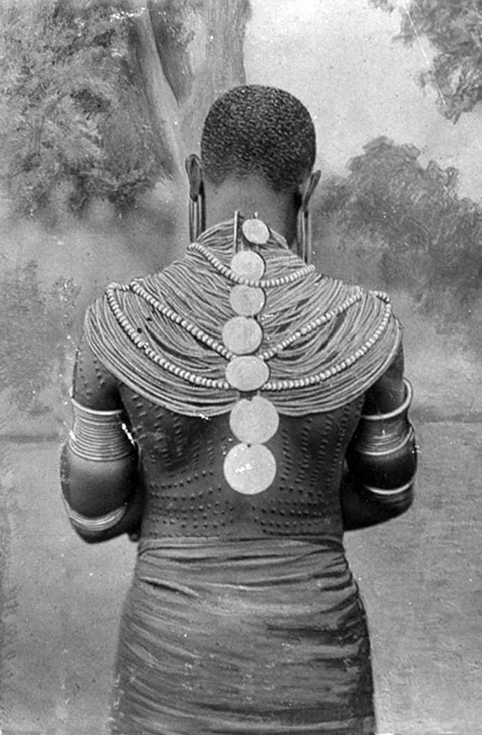 Kamba woman in traditional attire