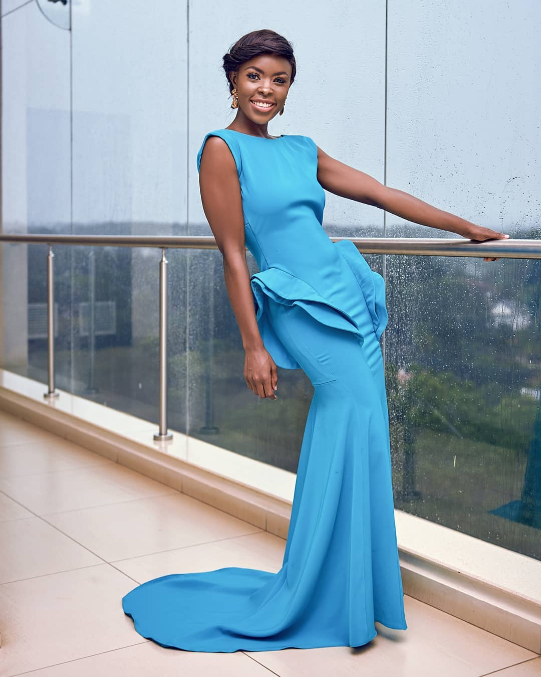 jacky vike - Top 8 Kenyan celebrities that pull that perfect Red Carpet gown look