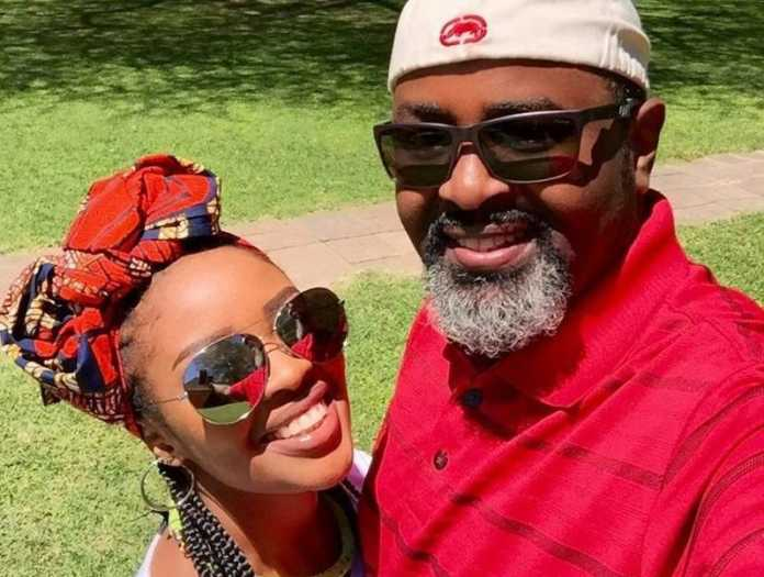 Kambua and husband