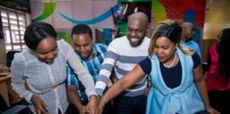 Larry Madowo's Farewell Party