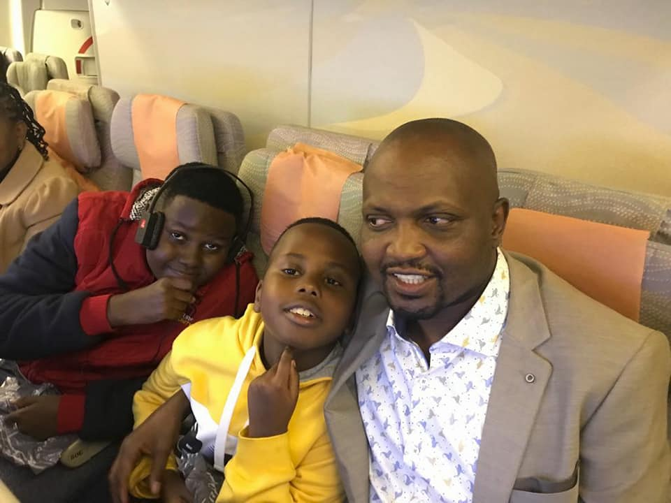 Moses Kuria going to Dubai with family