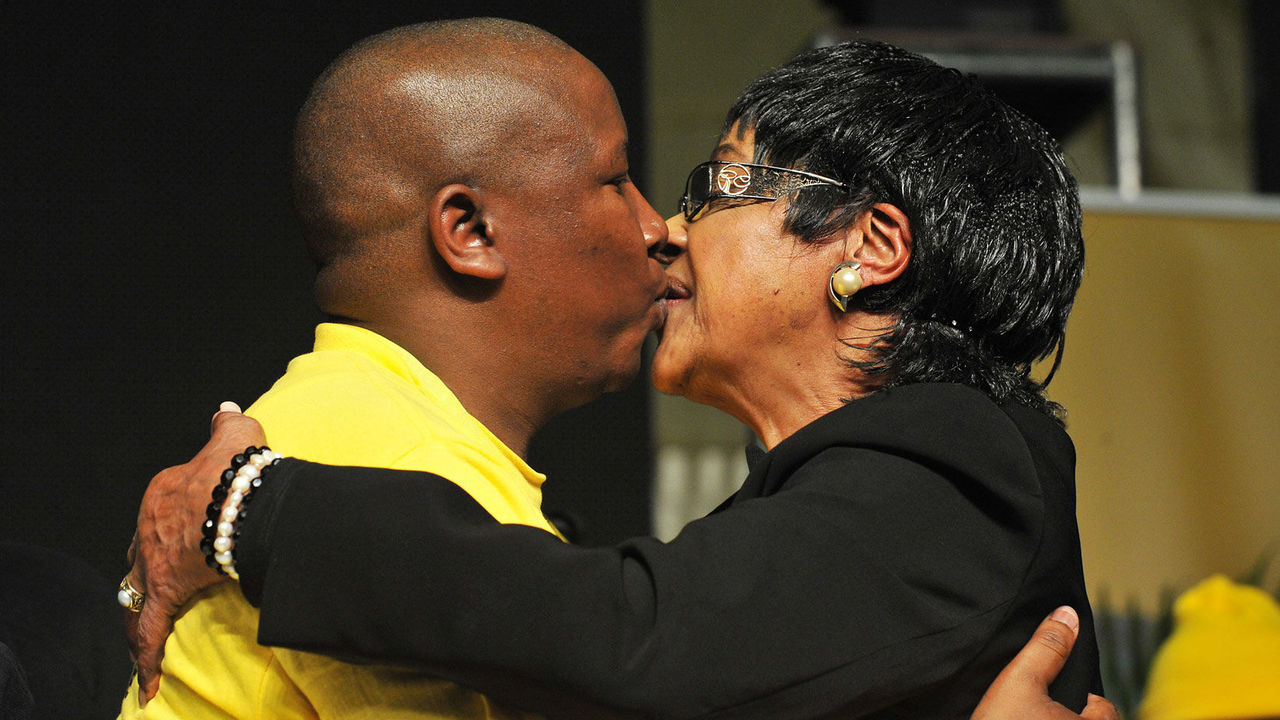 Malema and Winnie Mandela