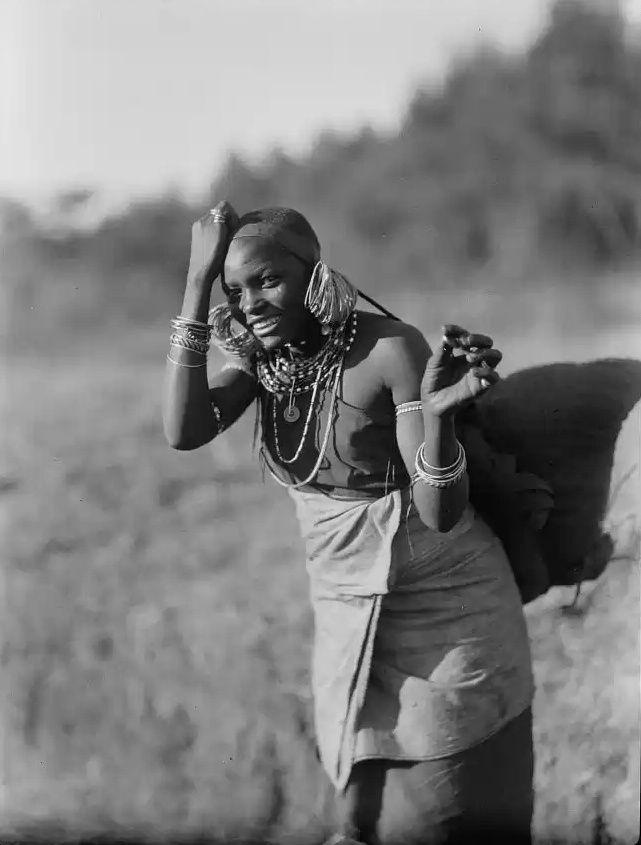 Kikuyu woman in stock footage