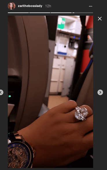 How many times can Zari Hassan's new ring pay your rent? Find out