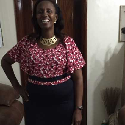 Ferdinand Waititu's wife