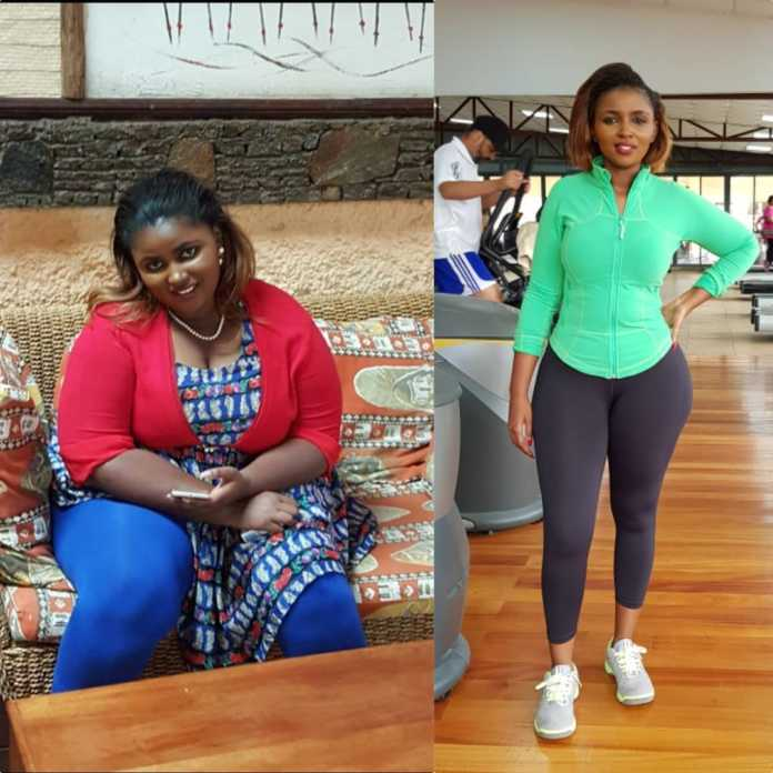 Anerlisa Muigai before and after