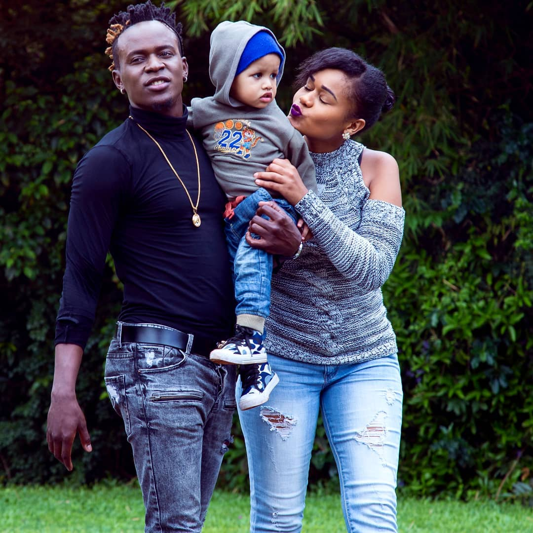 Willy Paul and family