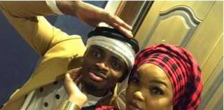 Diamond Platnumz with Wema Sepetu