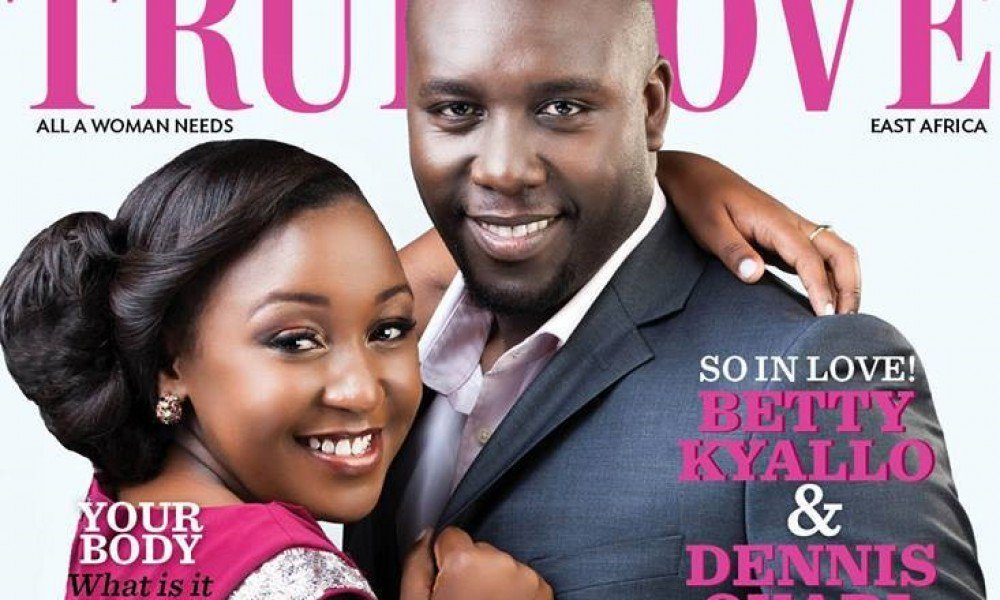 Betty Kyalo and Dennis Okari