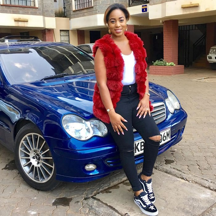 Someone Bought Her A Car After She Type: Diana Marua Urges Women To Leave Abusive Men Even If They