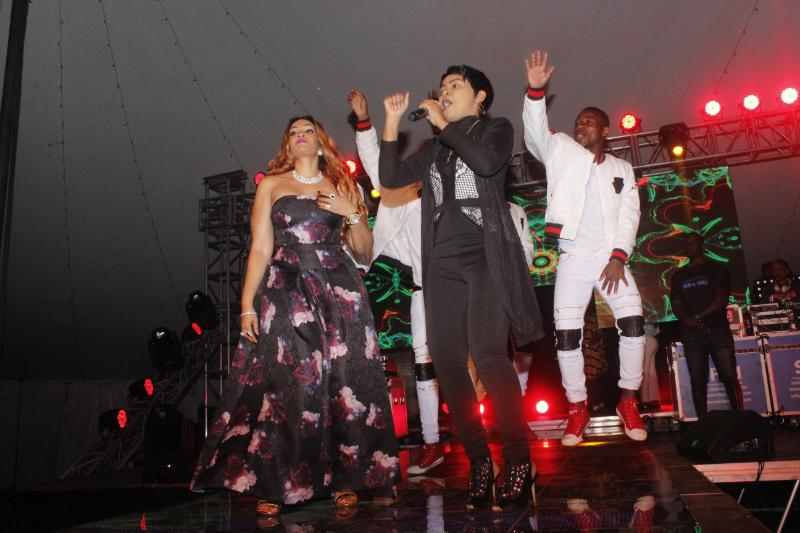 Zari Brings The House Down Check Out The Fashion Looks From The Concert Photos
