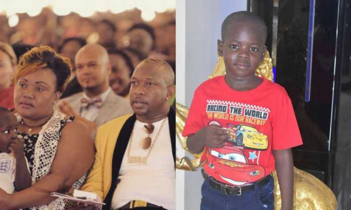 Mike Sonko's son Satrine Osinya's birthday