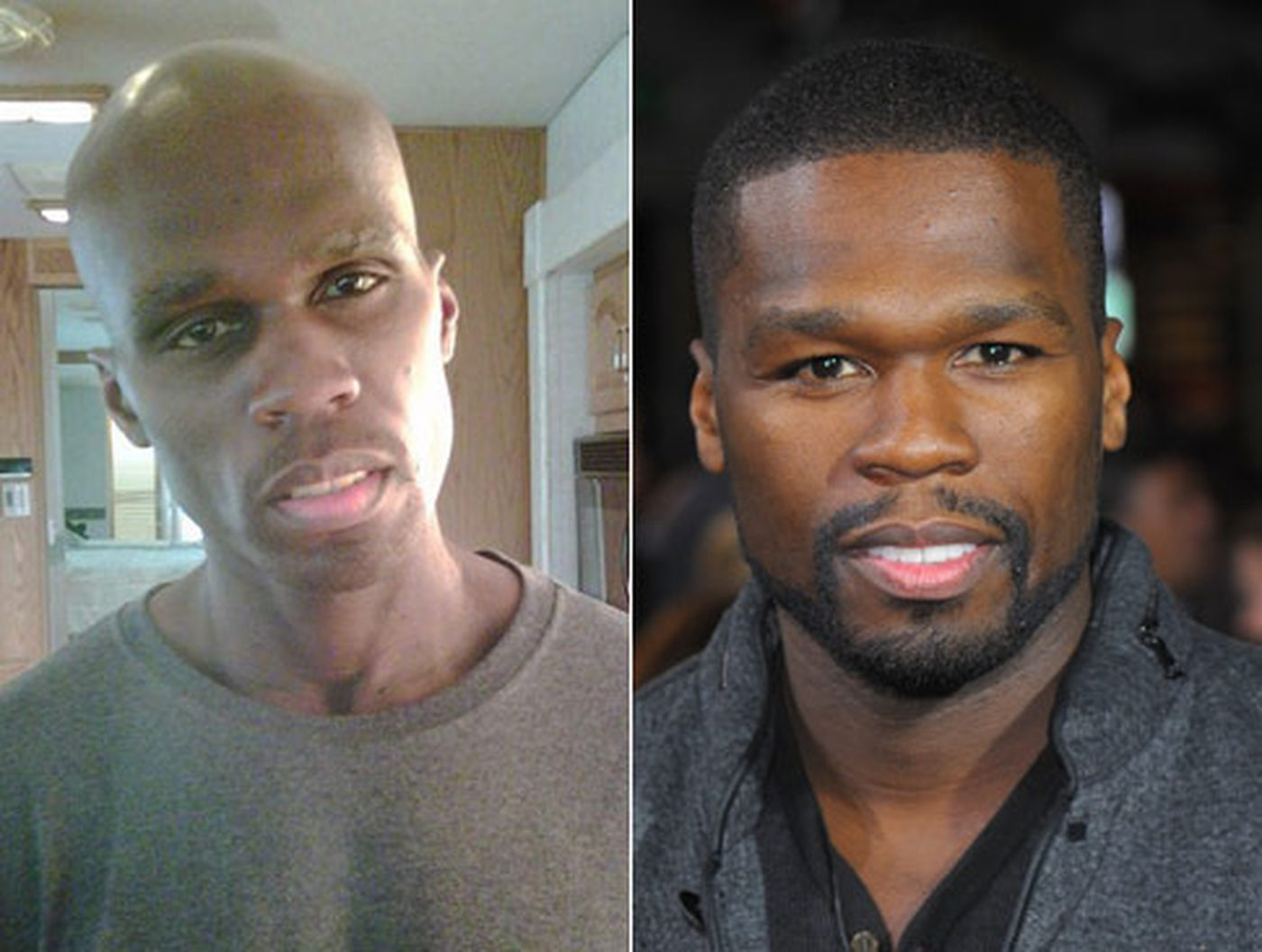 50 cent before and after