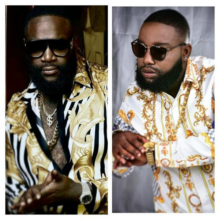 Rick Ross lookalike