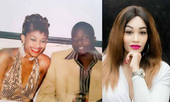 Zari and Ivan Semwanga before fame