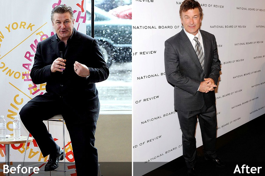 Alec Baldwin before and after