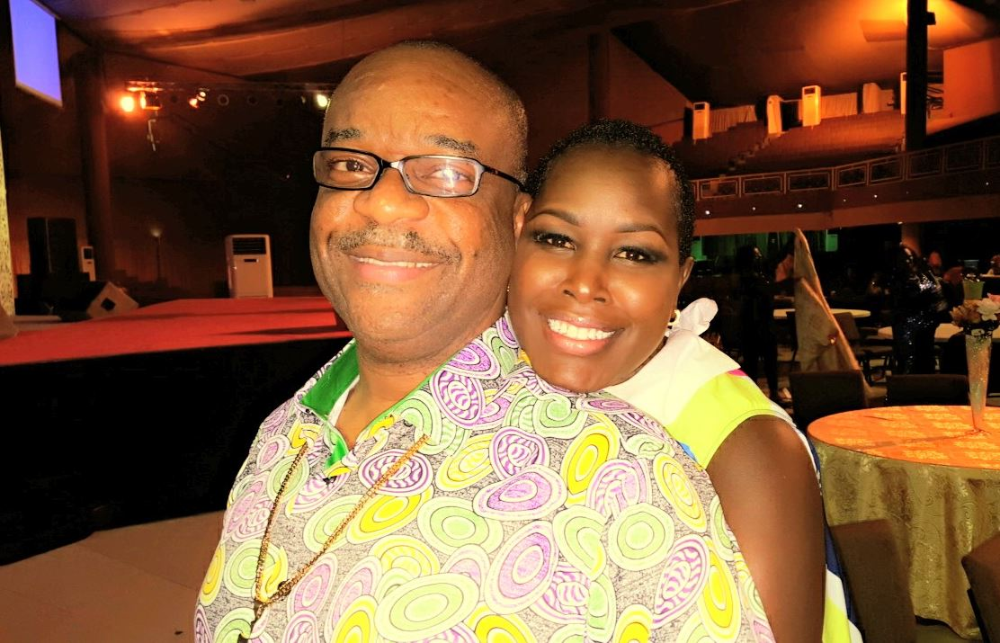 Emmy Kosgei and Pastor Madubuko